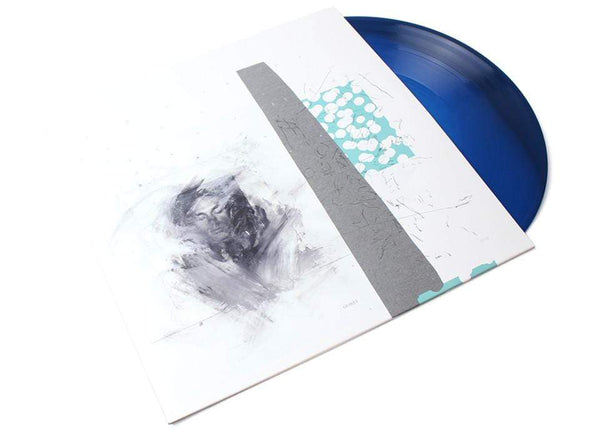 Choir of Young Believers - Grasque (2xLP - Blue and White Whirlpool Vinyl) Ghostly International