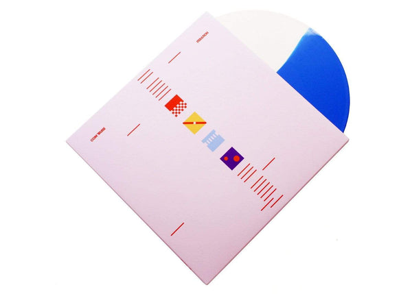 Com Truise - Iteration (2xLP - Blue/White Vinyl) Ghostly International
