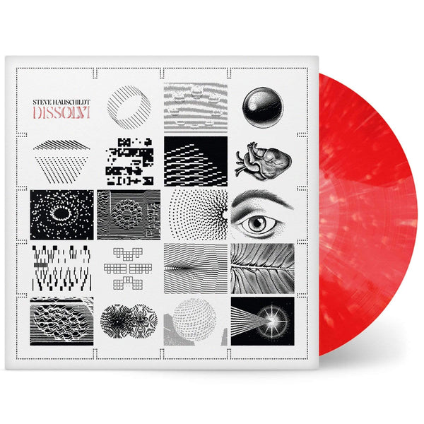 Steve Hauschildt - Dissolvi (LP - Limited Red Vinyl) Ghostly International
