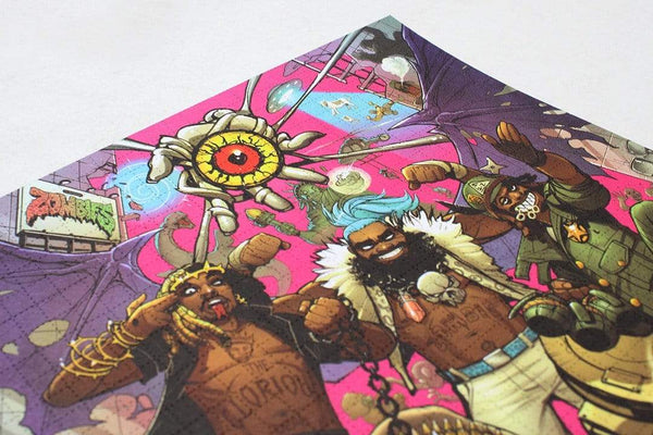 Flatbush Zombies - 3001: A Laced Odyssey (2xLP - 140 Gram Pink Vinyl) Glorious Dead Recordings