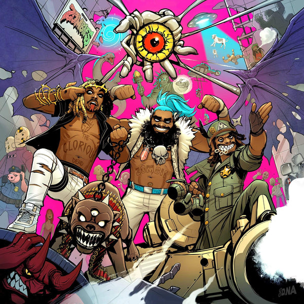 Flatbush Zombies - 3001: A Laced Odyssey (CD) Glorious Dead Recordings