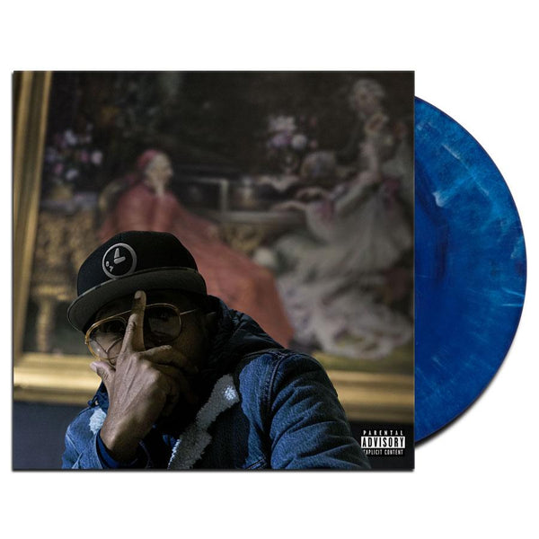 "Elzhi - Seven Times Down Eight Times Up (2xLP - ""Detroit Tiger"" Blue Vinyl - Fat Beats Exclusive) Glow365"