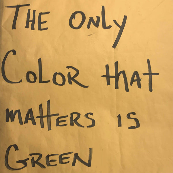 PaceWon & Mr. Green - The Only Color That Matters Is Green (LP - Fat Beats-Exclusive White Vinyl) Green Music Group