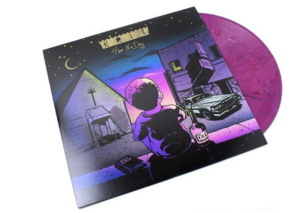 Big K.R.I.T. - 4eva N A Day (2xLP - Marbled Purple Vinyl) Green Streets Entertainment