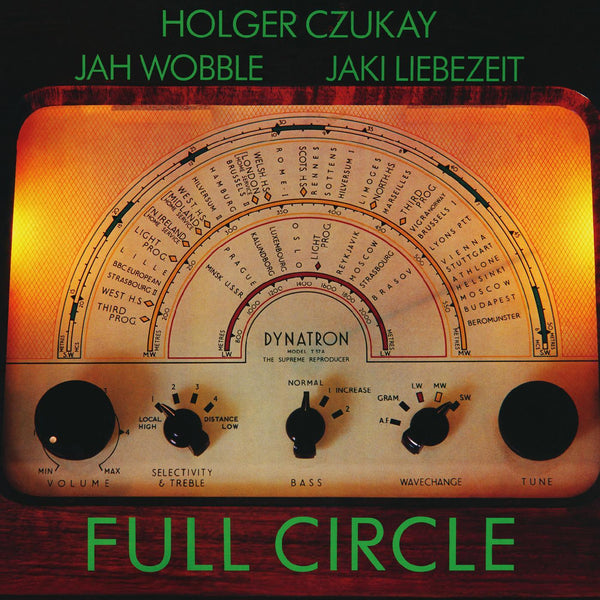 Holger Czukay, Jah Wobble & Jaki Liebezei - Full Circle (LP) Groenland Records