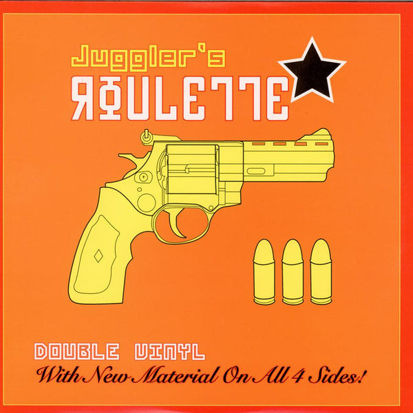 DJ JS1 - Juggler's Roulette - ORANGE COVER (2xLP) Ground Original