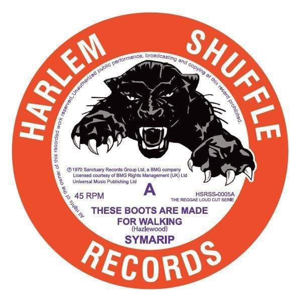 "Symarip - These Boots Are Made For Walking (7"") Harlem Shuffle Records"
