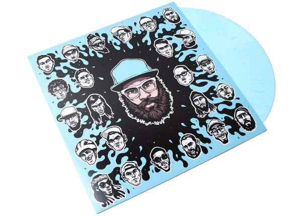 Dr. Dundiff & Friends - Dr. Dundiff & Friends (LP - Marbled Blue Vinyl + Download Card) Harvard House Studios