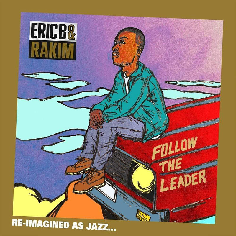 V/A - Eric B. & Rakim's Follow the Leader re-imagined as Jazz by Jonathan Hay, Benny Reid and Mike Smith (CD + Shirt Bundle) Hay, Reid & Smith