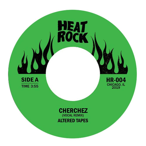"Altered Tapes - Cherchez b/w Cherchez Le B-Boy (7"") Heat Rock Records"