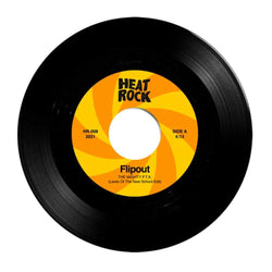 "Flipout - The Mighty of P.T.A. (7"") Heat Rock Records"