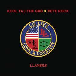 "Kool Taj The Gr8 X Pete Rock - Llayers b/w Forever (7"") HHV.de"