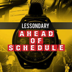 Lessondary - Ahead of Schedule (CD) Hipnott Records