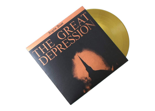 "Angels Dust - The Great Depression (10"" - Gold Vinyl) Hit+Run"