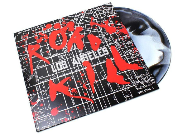 Hit & Run Presents: Road Kill Vol. 1 (LP - Black/White Haze Vinyl) Hit+Run