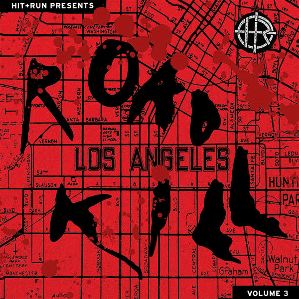 Hit & Run Presents: Road Kill Vol. 3 (LP - Red/Black Haze Vinyl) Hit+Run