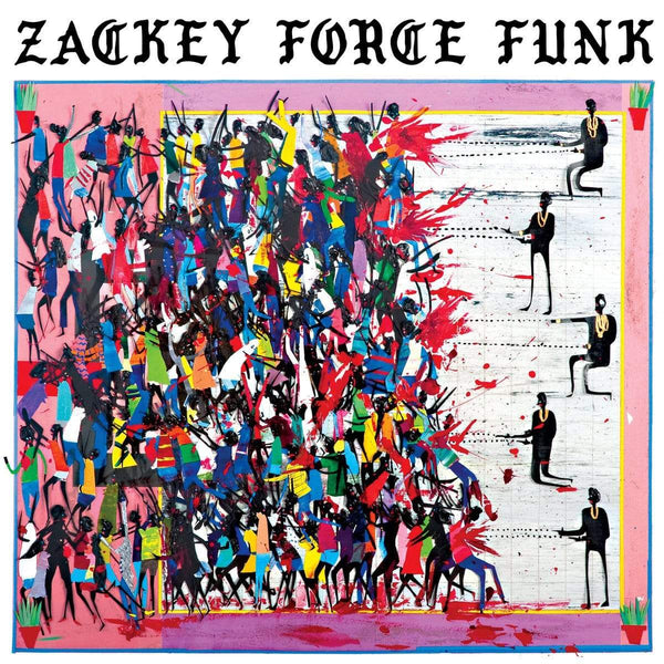 Zackey Force Funk - Electron Don (LP - White Vinyl) Hit+Run