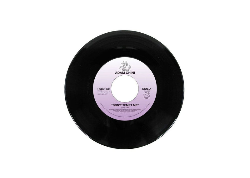 "Adam Chini - Don't Tempt Me b/w Let The Night Slip Away (7"") Hobo Camp"