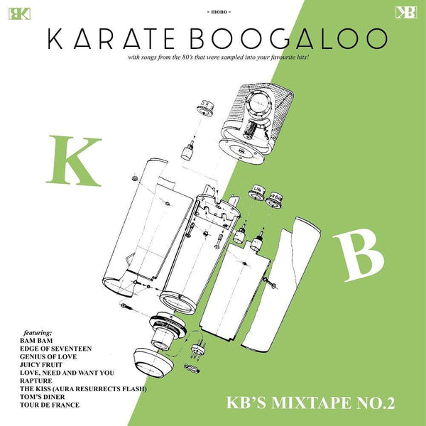 Karate Boogaloo - KB's Mixtape No. 2 (CD) Hope Street Recordings