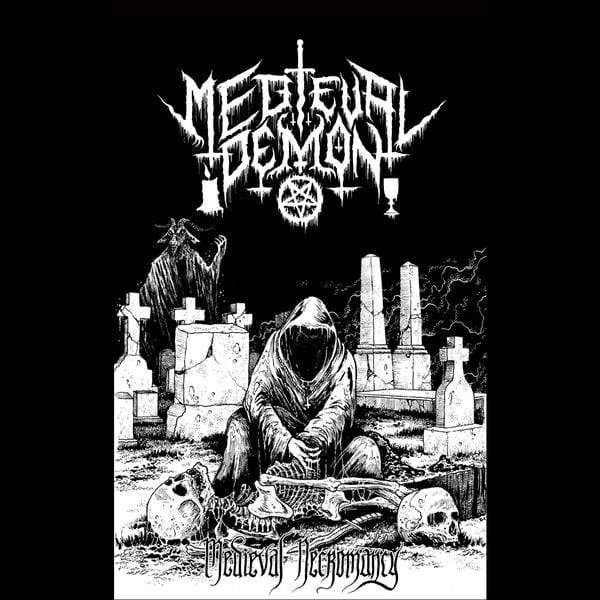Medieval Demon - Medieval Necromancy (Cassette) Hospital Productions