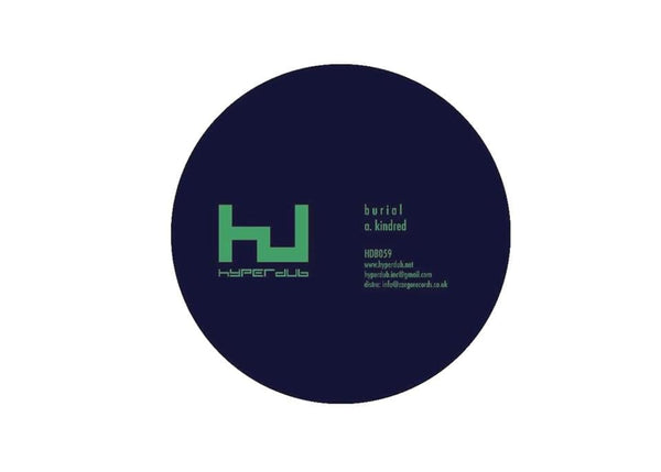 "Burial - Kindred (EP - 12"" Vinyl) Hyperdub"