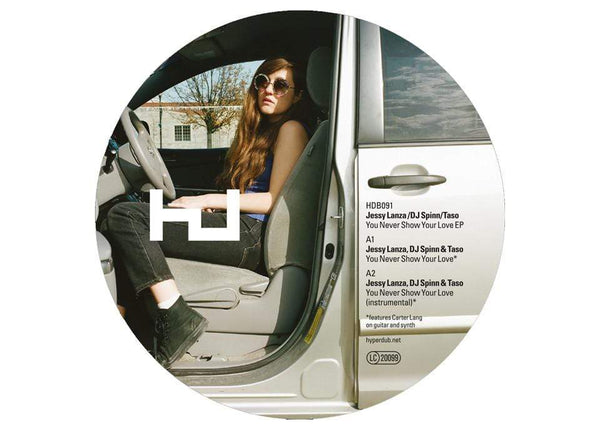 Jessy Lanza, DJ Spinn and DJ Taso - You Never Show Your Love (EP + Includes DJ Rashad Edit) Hyperdub