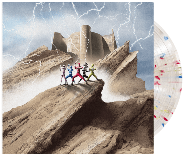 Ron Wasserman - Power Rangers: The OG Soundtrack (LP - Rainbow Ranger Splatter Vinyl) iam8bit