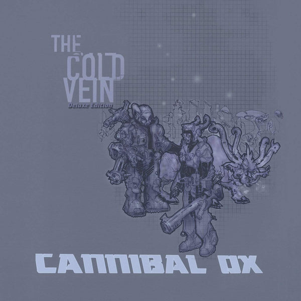 Cannibal Ox - The Cold Vein + Instrumentals (4xLP - Blue Vinyl) iHipHop Distribution
