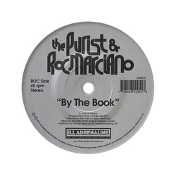 "The Purist & Roc Marciano - By The Book (7"") Ill Adrenaline Records"