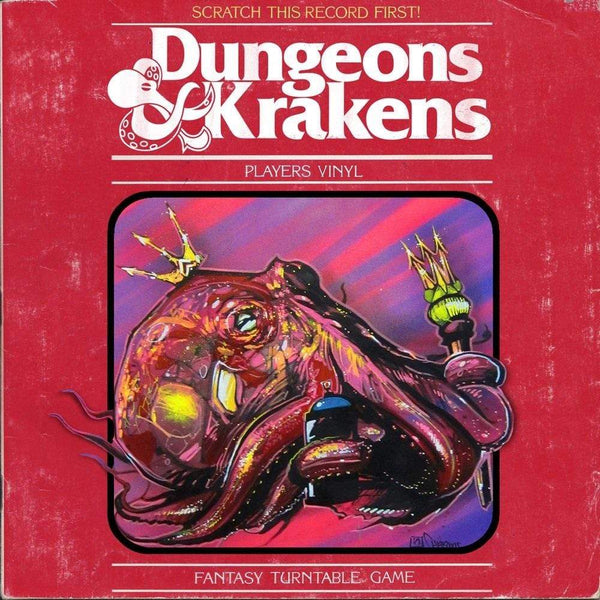 "DJ Because & DJ Efechto - Dungeons & Krakens (7"" - Random ""Chaos"" Color Vinyl) ILLECT Recordings"