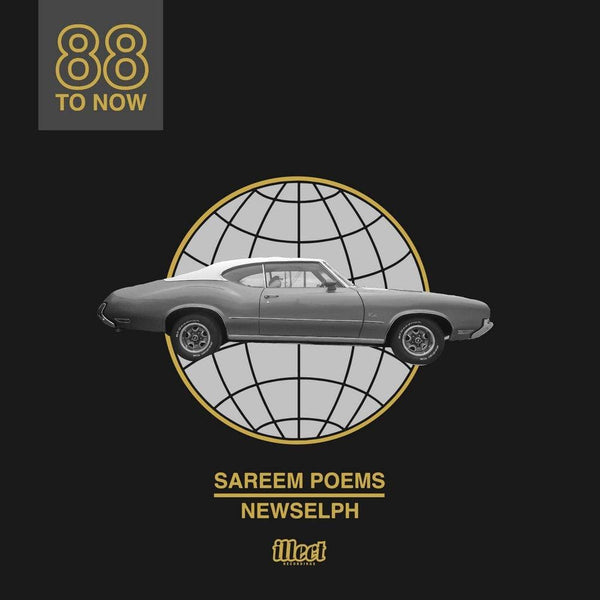 Sareem Poems & Newselph - 88 To Now (LP - Silver) ILLECT Recordings