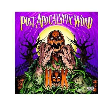 HOK - The Post Apocalyptic Word (LP - Colored Vinyl) INgrooves