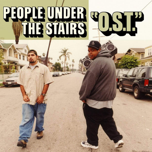 People Under The Stairs - O.S.T. (2xLP - Gatefold) INgrooves