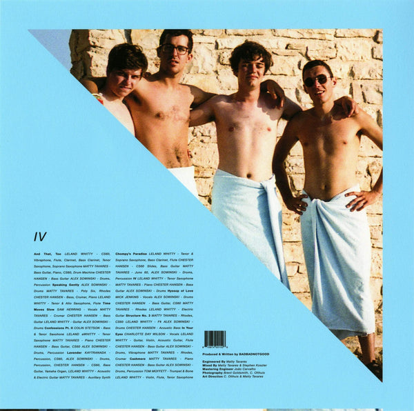 BadBadNotGood - IV (Cassette) Innovative Leisure