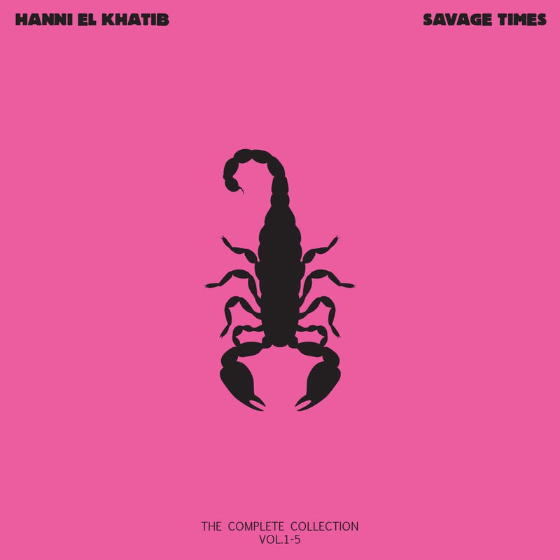 "Hanni El Khatib - Savage Times (3x10"" - Hardcover Booklet + Download Card) Innovative Leisure"