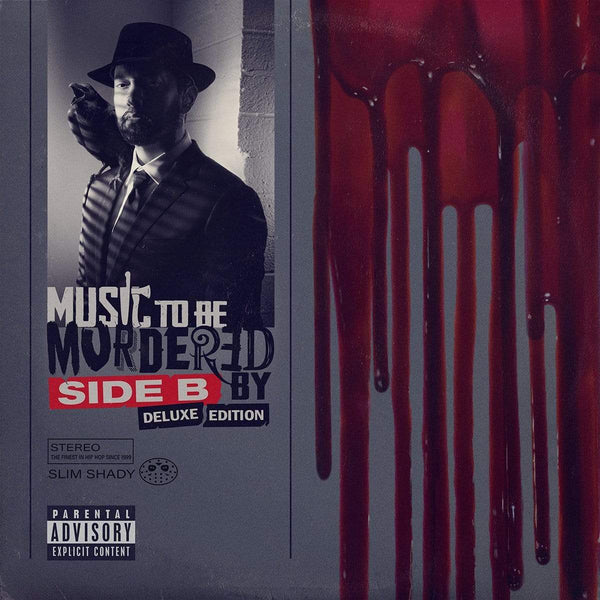 Eminem - Music To Be Murdered By: Side B (Deluxe Edition) (4xLP - Opaque Grey Vinyl) Interscope Records