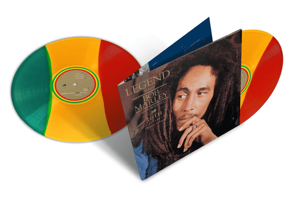 Bob Marley - Legend: 30th Anniversary Edition (2xLP - Red/Yellow/Green Vinyl) Island Records