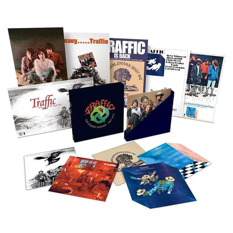 Traffic - The Studio Recordings: 1967-74 (6xLP) Island Records