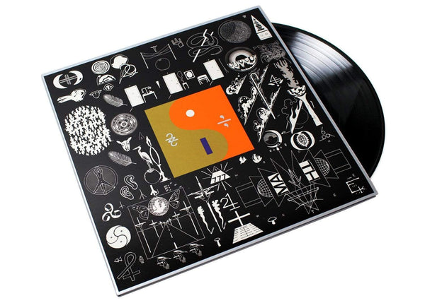 "Bon Iver - 22, A Million (Bundle - LP + 12"") Jagjaguwar"