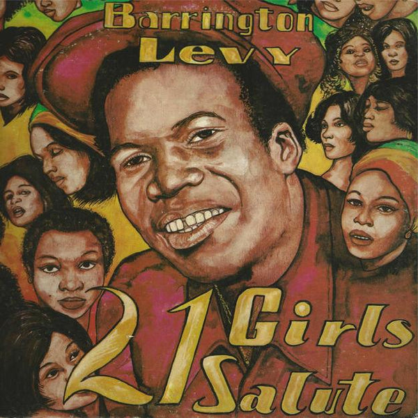 Barrington Levy - 21 Girls Salute (LP) Jah Life