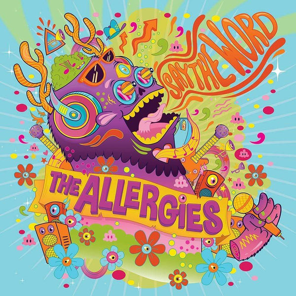 The Allergies - Say The Word (CD) Jalapeno Records
