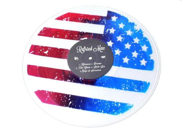 Res - Refried Mac (EP - Clear/Stars & Stripes Screenprinted Vinyl - Limited RSD Exclusive) Javotti Media