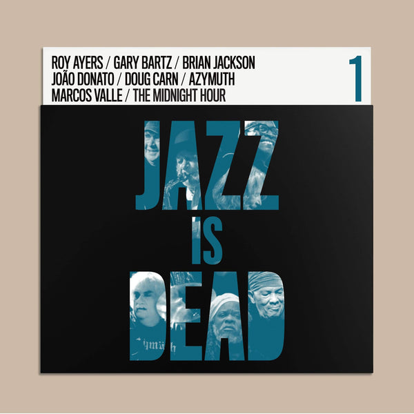 Adrian Younge and Ali Shaheed Muhammad - Jazz Is Dead (CD) Jazz Is Dead