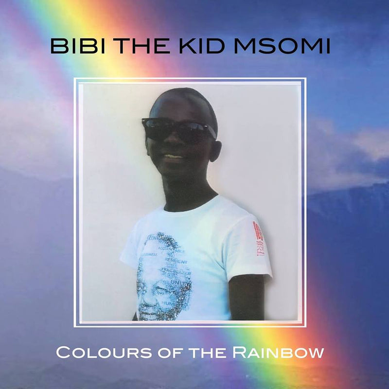 "Bibi ""The Kid"" Msomi - Colours of the Rainbow (LP) Jordan Valley Records"