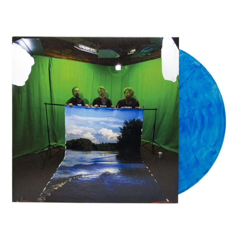 The Coke Dares - Fake Lake (LP - Coke Clear/Blue Swirl Vinyl) Joyful Noise Recordings