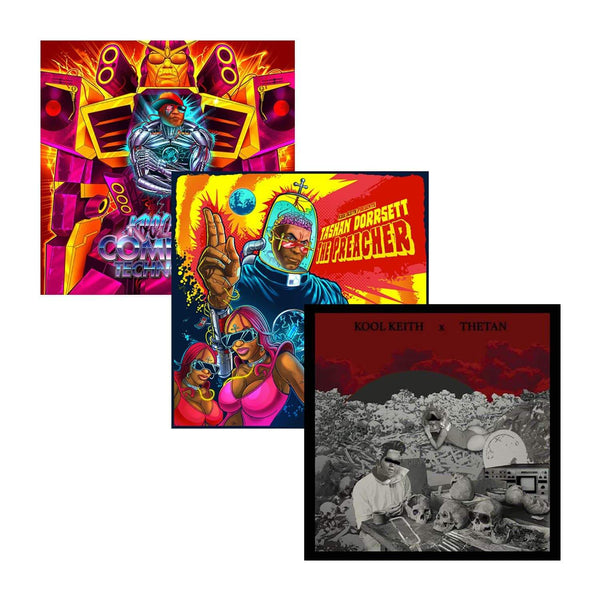 Kool Keith - Computer Technology / The Preacher / Space Goretex (3xCD Bundle) Junkadelic Music / Anti-Corp