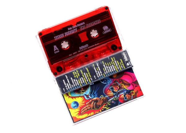 Kool Keith Presents: Tashan Dorrsett - The Preacher: Deluxe Edition (Cassette) Junkadelic Music