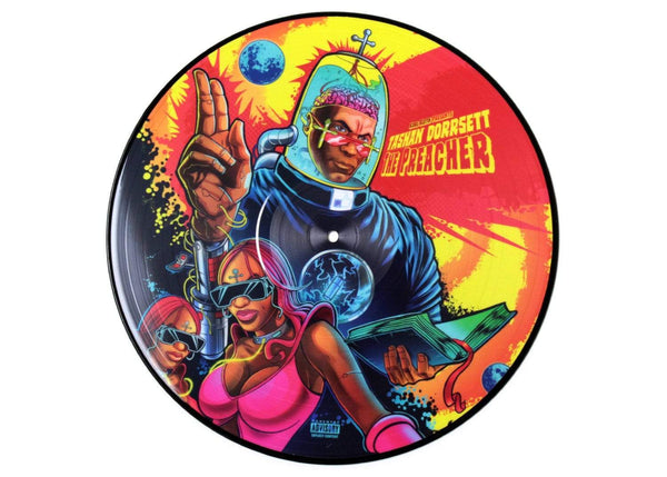 Kool Keith Presents: Tashan Dorrsett - The Preacher (LP - Picture Disc) Junkadelic Music
