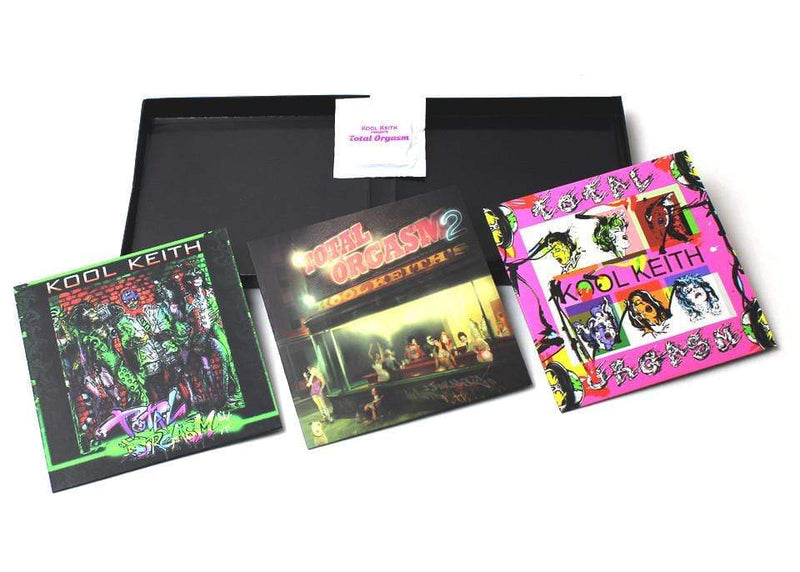 Kool Keith - Total Orgasm (3xCD - Box Set + Condom) Junkadelic Music