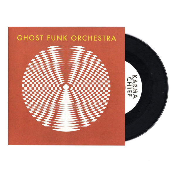 "Ghost Funk Orchestra - Walk Like A Motherfucker b/w Isaac Hayes (7"" - Black Vinyl) Karma Chief Records/Colemine Records"